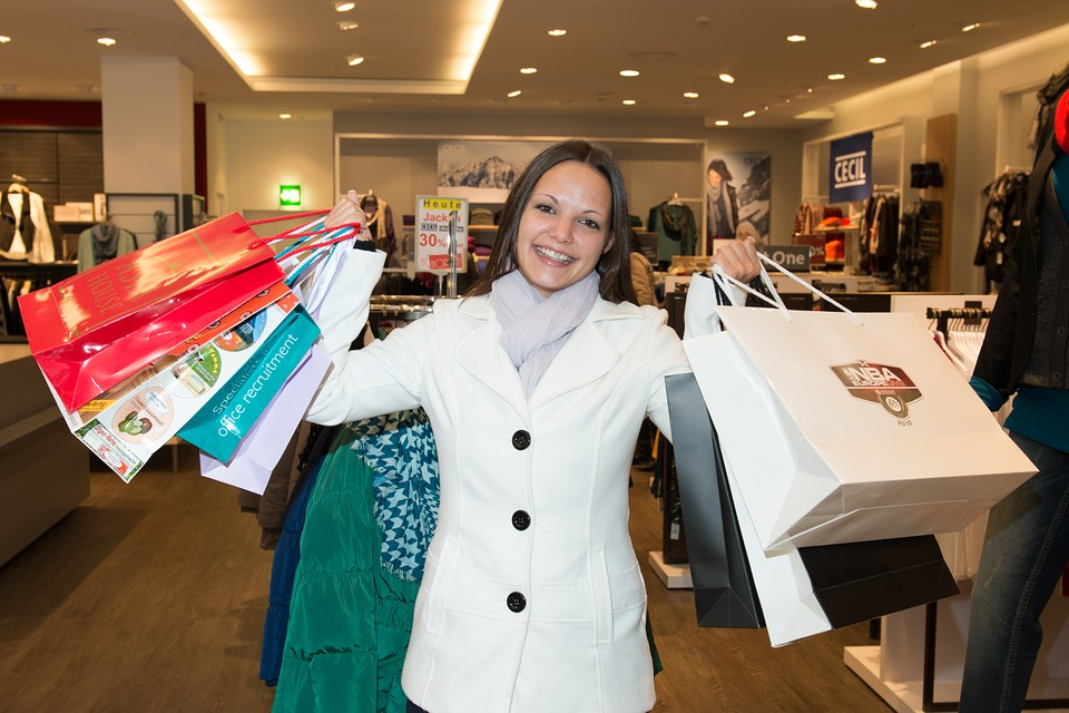 Je loon is er: en nu? Shoppen!